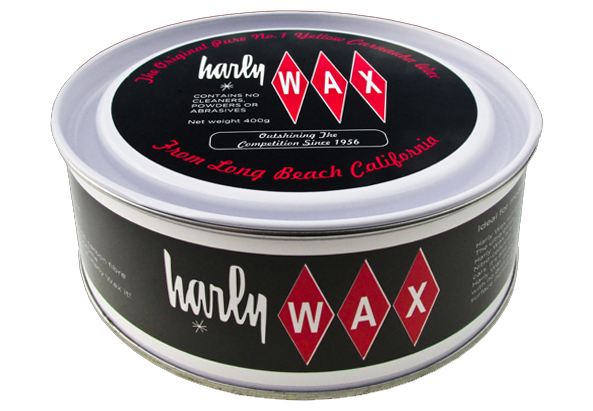 Tin of Harly Wax.
