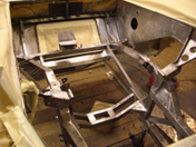 11. Entire rear chassis area back to bare metal.